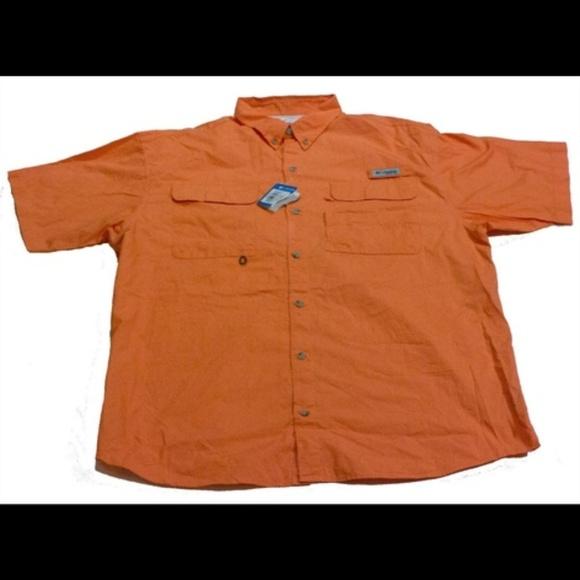 c9ce7263c13 COLUMBIA PFG Shirts | Mens Short Sleeve Button Shirt Xl | Poshmark